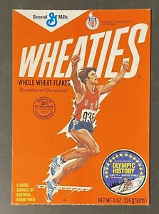 VINTAGE BRUCE JENNER WEATIES BOX FRONT COVER OLYMPIC DECATHLON WORLDS GREATEST