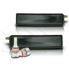 Fit 2004-2006 Scion XB Bumper Fog Light and Switch Only w/C6 LED Bulbs - Smoke