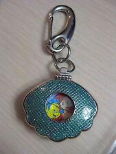 Tokyo Disney Sea Little Mermaid Ariel Shell Keychain Watch Backpack or Purse