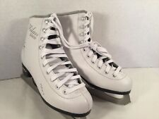CHILDS SIZE 4 LAKE PLACID ICE SKATES MILAN 2000