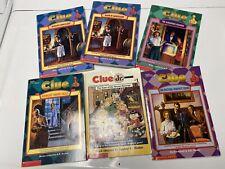 Clue Books - Lot of 6 - A.E. Parker