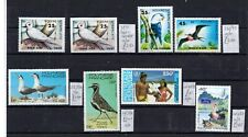 French Polynesia  8  BIRD STAMPS  DETAILS AS SCAN  CV £15+ SUPERB UNHINGED MINT