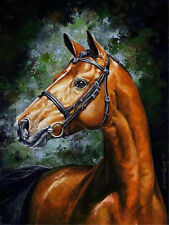 Army Horse Paint By Number Kits DIY Canvas Painting Home Wall Decor