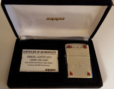 ZIPPO Feuerzeug Annual Lighter 2012 Limited Edition Jahrgangsmodell xxxx/1000