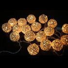 20 LED Garland Rattan Vine Ball Globe Fairy String Lights Party Home Decoration
