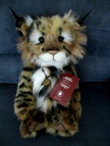 "13"" Charlie Bears Mischief Maker lynx cub"
