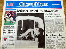 1985 hdln newspaper ARAB TERRORISTS HIJACK EgyptAir Flight 648-Rescue Raid Fails