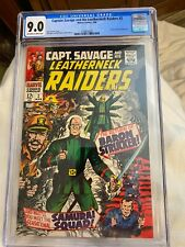 1968 Captain Savage and His Leatherneck Raiders #2 CGC graded 9.0