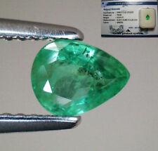 Gioielli e gemme di smeraldo naturale verde a goccia da Colombia