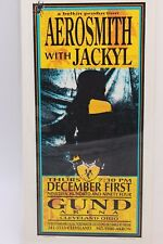 AEROSMITH WITH JACKYL BELKIN PRODUCTION GUND ARENA CLEVELAND 1994 HANDBILL