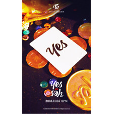"""K-POP TWICE 6th Mini Album """"YES or YES"""" [ 1 Photobook + 1 CD ] A VER"""