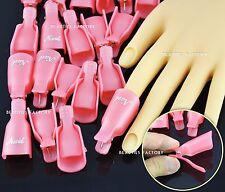 20x Reusable Nail Art Polish Artificial Nail Removal Soak Off Soaker 996