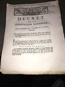 RÉVOLUTION.DOCUMENT SUR LES FORCES EMPLOYÉES DANS LES ILES SOUS LE VENT.1792.