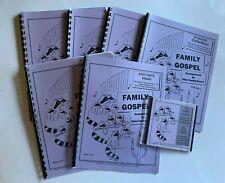 Family Gospel Books & Cd Eden Vaning-Rosen Voice Piano Viola Violin Cello Guitar
