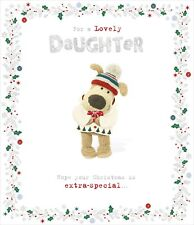 Boofle For A Lovely Daughter Christmas Greeting Card Cute Xmas Cards