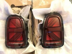 Genuine Union Jack Blackline LED Tail Lights MINI Countryman F60 Cooper S D JCW
