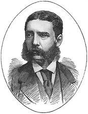 Lieutenant Gonville Bromhead Rorkes Drift Officer 1885 Portrait Repro Art Print