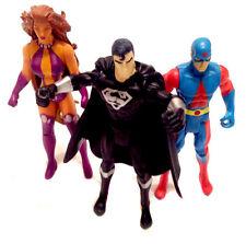 "DC Comics JUSTICE LEAGUE & TITANS 3.5"" figure lot , superman & batman universe"