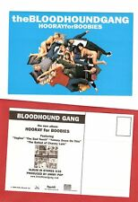 The BLOODHOUND GANG Hooray For Boobies Postcard Sticker
