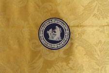 Antique Wedgwood Dark Blue Jasper Ware Round Trinket Box (c.1893)