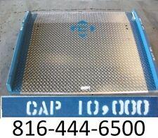 "60"" x 48"" Loading Dock Plate Aluminum 10,000 lb Pallet truck board USA NEW"