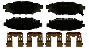 Disc Brake Pad Set-Ceramic Disc Brake Pad Rear ACDelco Advantage 14D1114CHF1