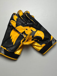 Iowa Hawkeyes Game Used Nike Vapor Jets Football Gloves