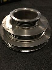 Unorthodox light weight aluminum Racing crank shaft Pulley Honda Civic D15 D16