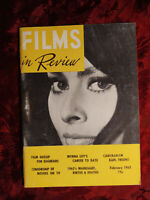 RARE Films In Review Magazine February 1963 Sophia Loren Myrna Loy Karl Freund