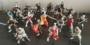 Schleich / Papo Figures - Entire Collection x 22 Knights Figures