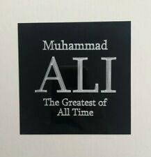 Muhammad Ali - 105x105mm Engraved Plaque / Plate - Ideal for Signed Memorabilia