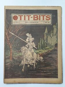 THE WHITE KNIGHT! - TIT-BITS #1841 (1944) - ORIG. COMIC IN SPANISH - ARGENTINA