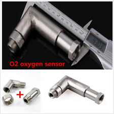 O2 OXYGEN SENSOR ANGLED EXTENDER SPACER 90 DEGREE 02 BUNG EXTENSION M18 X 1.5