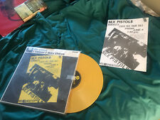 Lesser Free Trade Hall 1976 Mint Sex Pistols Yellow Coloured Vinyl LP