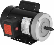 1 HP Electric Motor 1725 RPM 11.2-5.6 A Single Phase Motor AC 115V 230V