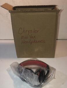 NEW! WIRED FACTORY HEADPHONES FOR CHRYSLER/DODGE MINIVAN CHEVROLET