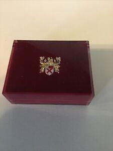 Vintage Lord Elgin 21 Jewel Durapower Lucite Watch Box