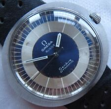 Omega Meister Dynamic Geneve mens wristwatch steel case load manual