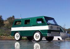 Chevolet Corvair Greenbier Van Custom Painted, (Structo School Bus) tin toy Grn