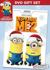 DESPICABLE ME 2 DVD GIFT SET FREE LIMITED EDITION ORNAMENT BRAND NEW