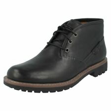 Stivali, anfibi e scarponcini da uomo neri casual con fibbia