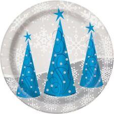 Tutto natali natali per la tavola per feste e party argento