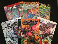 WildCats 7 Item  Set – GraphicNovel– Issue 1 to 4 – Special Issue - Trading Card