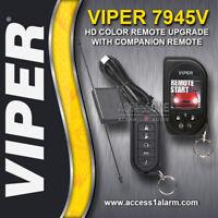 Viper 7945V HD 2-Way Color Remote Control Upgrade Kit With 7654V For Viper 5806V