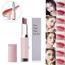 Two-tone Tint Lip Bar Long Lasting Gradient Color Moisturzing Lipstick Balm 3.8g