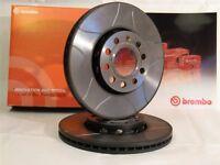 Brembo Max Sport Bremsscheiben Satz 09.9505.75 Hinterachse für Fiat, Opel, Saab