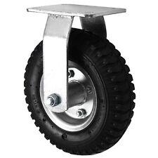 """Black Rubber Pneumatic Swivel/Swivel Braked/Fixed Wheels (200MM/8"""")"""