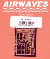 Airwaves 1/72 BAe Sea Harrier FRS.1 etch for ESCI / Italeri kit # AEC72005*