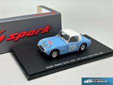 RARE! Austin Healey Sprite #201 14th Monte Carlo Rally 1959 Spark S4124 1:43