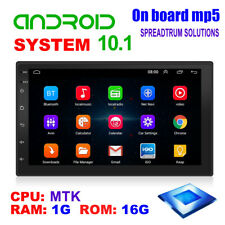 """2 Din Android 10.1 Car Stereo Gps Navigation Radio Player Wifi 7"""" Head Unit"""